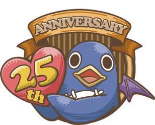 25周年アニバーサリーアイコン