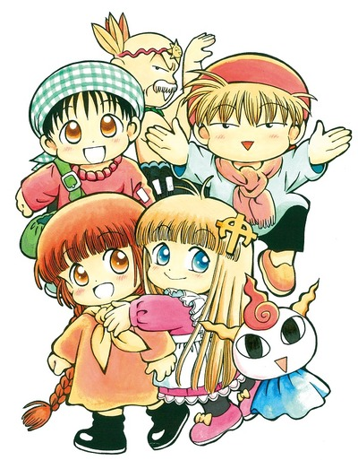 連載25年の「魔法陣グルグル」三度TVアニメ化! 「魔法陣グルグル2」最新7巻でニケ&ククリのキャストを発表