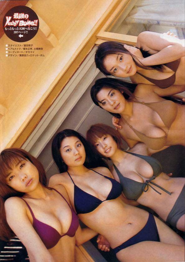 【グラドル】小池栄子、MEGUMI、根本はるみ、グラドル時代!