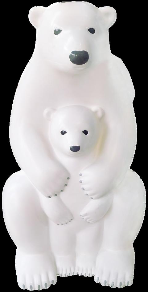 クマ人形写真