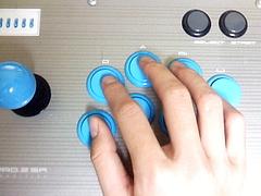 四指をボタンホールドに割り振った場合の図