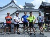 関宿城の前で記念撮影