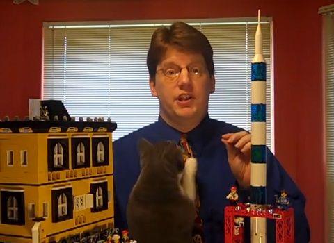 猫 レゴの説明中に02