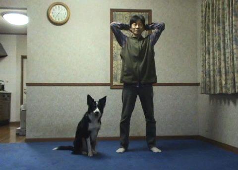犬 スクワット00