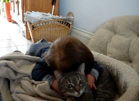 猫 赤ちゃん・猫大好き01