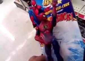 完全アウトなスパイダーマン