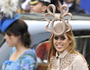 ネットミーム:「ベアトリス王女の帽子」