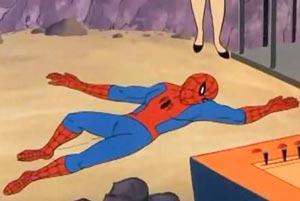 60年代アニメ版スパイダーマン