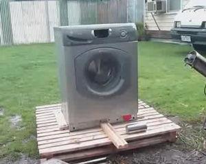 要らなくなった洗濯機を簡単に分解する方法