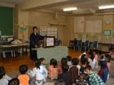 小学校で紙芝居