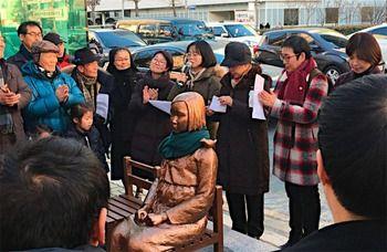 【日韓】韓国メディア「日本は謝罪と反省を」少女像設置問題で猛反発[01/09] [無断転載禁止]©2ch.net