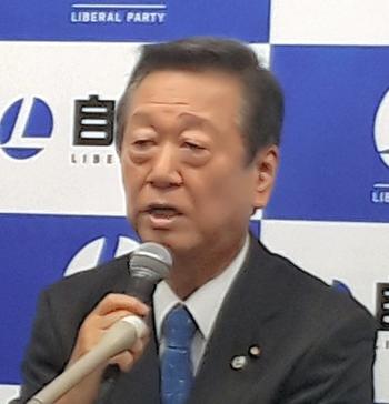 【政治】小沢氏「指示なしでできる役人いないよ」森友文書改ざん