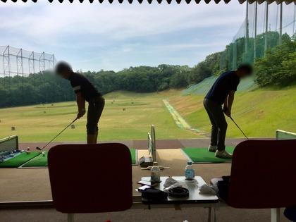 北摂ゴルフ部 朝練(ゴルフ鬱)。