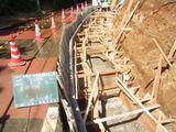石積み擁壁工事3