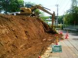 石積み擁壁工事2