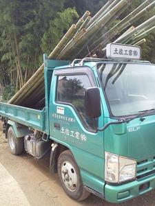 竹日除け製作 (2)