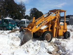 除雪作業 (2)