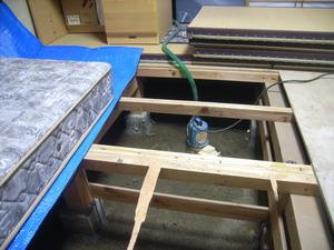 床下浸水3