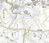 付近の地形図
