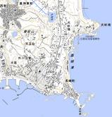 犬吠地形図