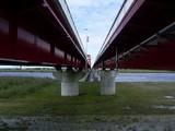 左・大橋、右・側道