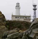 下から灯台