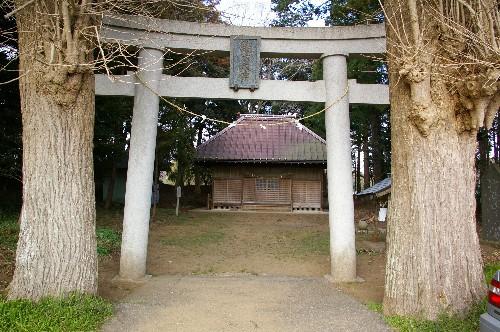 鏑木神社鳥居