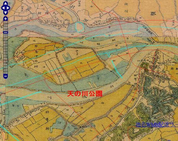 神崎古地図