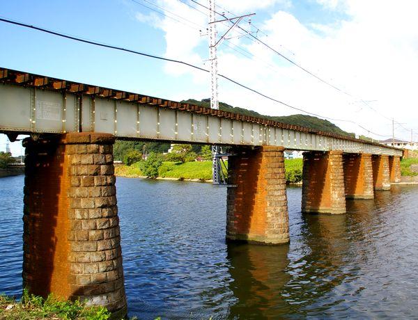 小糸川鉄橋