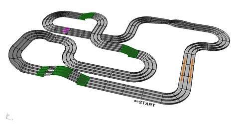 ハイパーダッシュサーキット擬似コース