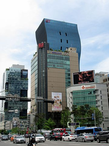 강남_Gangnam_ソウル江南_-_panoramio