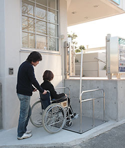 ペインクリニック_車椅子用リフト