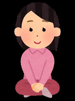agura_kutsurogu6_woman