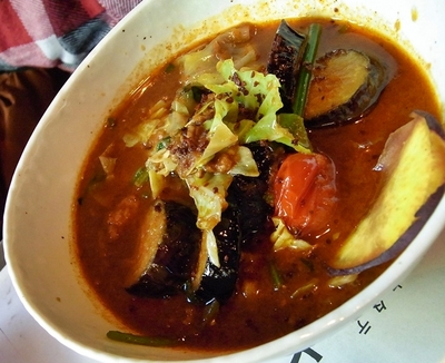 sync・黒豚ひき肉と野菜のカレー