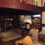 里山のカフェににぎにて cafe gitaさんトーク