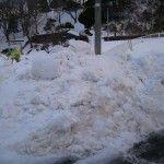 男鹿の雪暮らしは意外と楽です