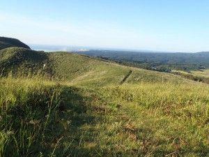 2012-09-13 早朝ライド 朝露濡れる寒風山でドリフト…