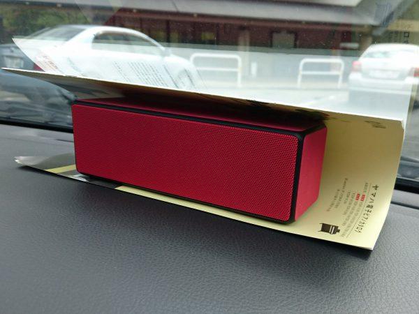 Bluetoothスピーカーを車載してロングドライブ