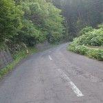 早朝ライド 馬生目から北町の峠道