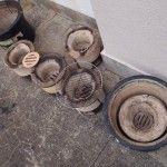 土鍋を使うなら、七輪も揃えるのが筋ですね。