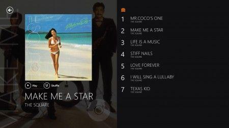 Make Me A Starを聴ききながら