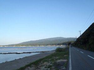 2012-09-16 早朝ライド 鵜ノ崎からお山を