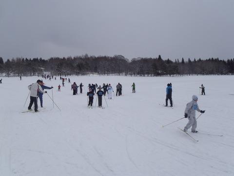雪深くてもノルディックは楽しい