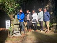 櫻井さん岩殿山謙信公墓所に参詣(令和元年)