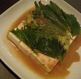 横浜 Anise(アニス) 手作り豆腐とアボカドのサラダ