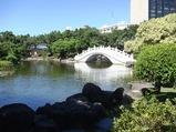 台湾旅行 台湾民主記念館の庭園