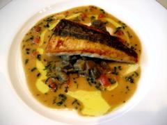 cuisine francaise JJ メイン魚
