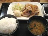 銀座ライス 生姜焼き