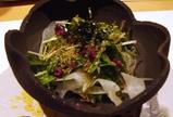 東銀座 千の庭 サラダ