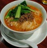 芝蘭の坦々麺